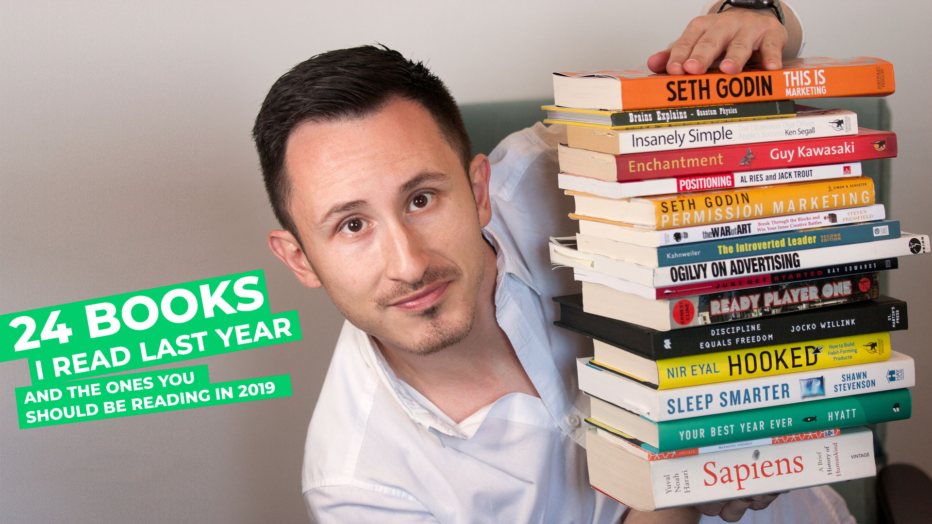 24 books I read last year and the ones you should be reading in2019