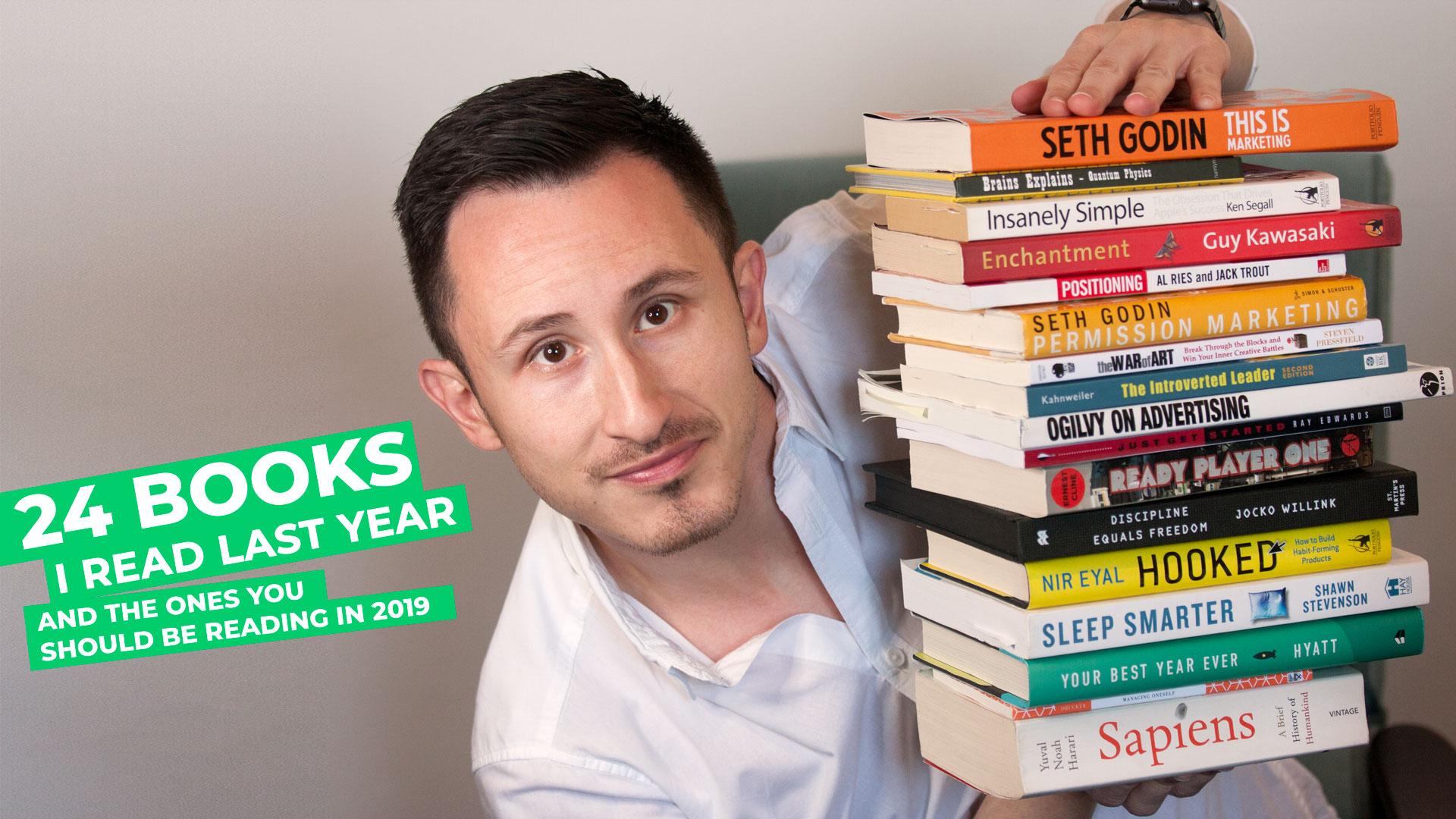 24 books I read in 2018