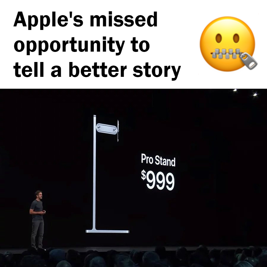 How Apple missed an opportunity to tell a better story