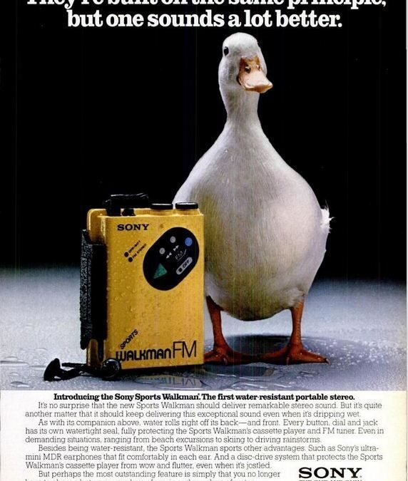 Sony advert – 1983