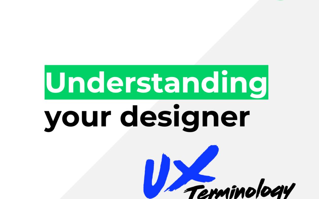 Understanding your web designer